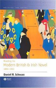 Cover of: Reading the modern British and Irish novel, 1890-1930