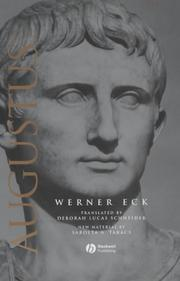 Cover of: The Age of Augustus | Werner Eck