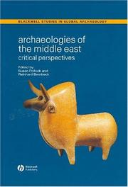 Cover of: Archaeology of the near East | Reinhard Bernbeck
