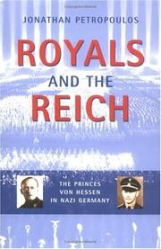 Cover of: Royals and the Reich