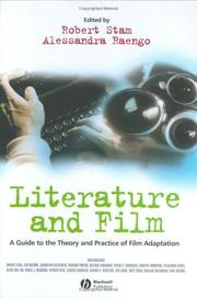 Cover of: Literature and Film | Alessandra Raengo