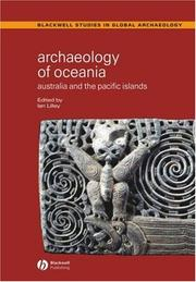 Cover of: Archaeology of Oceania