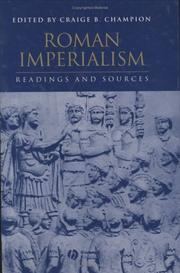 Cover of: Roman imperialism |