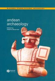 Cover of: Andean Archaeology (Blackwell Studies in Global Archaeology) | Helaine Silverman