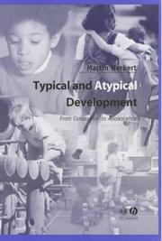 Cover of: Typical and Atypical Development | Martin Herbert