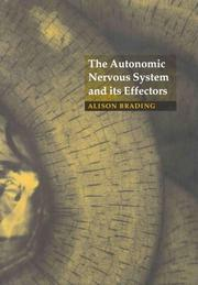 Cover of: The autonomic nervous system and its effectors