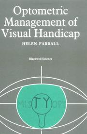 Cover of: Optometric Management of Visual Handicap (Modern Optometry) | Helen Farrall