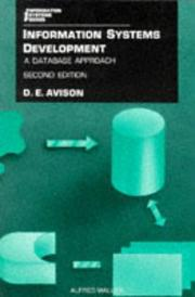 Cover of: Information Systems Development | D. E. Avison