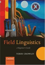 Cover of: Field Linguistics