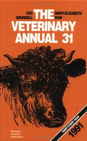 Cover of: The Veterinary Annual/1991 (Veterinary Annual) | C. S. G. Grunsell