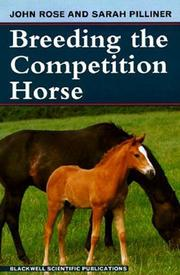 Cover of: Breeding the competition horse
