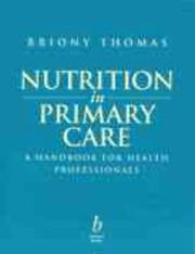 Cover of: Nutrition in primary care