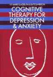 Cover of: Cognitive therapy for depression and anxiety | Ivy-Marie Blackburn