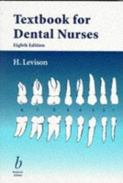 Cover of: Textbook for dental nurses | H. Levison