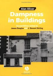 Dampness in buildings by Alan C. Oliver
