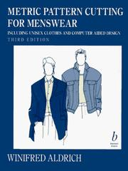 Cover of: Metric pattern cutting for menswear
