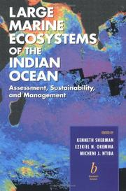 Cover of: Large Marine Ecosystems of the Indian Ocean | M. J. Ntiba
