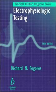 Cover of: Electrophysiologic testing