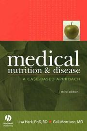 Cover of: Medical Nutrition and Disease | Lisa Hark