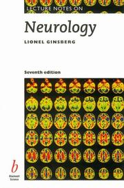 Cover of: Lecture notes on neurology. | Lionel Ginsberg