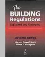 Cover of: The building regulations