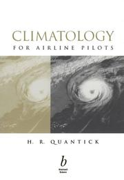 Cover of: Climatology for airline pilots