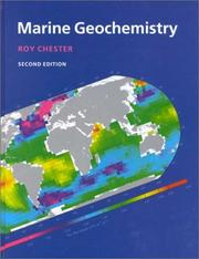 Marine geochemistry by R. Chester
