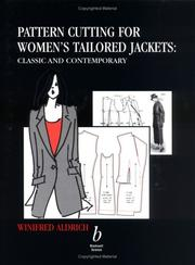 Cover of: Pattern Cutting for Women's Tailored Jackets