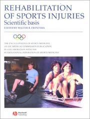 Cover of: Rehabilitation of Sports Injuries