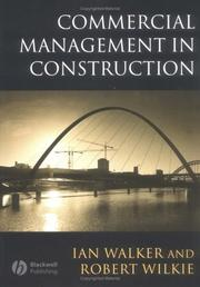 Cover of: Commercial management in construction