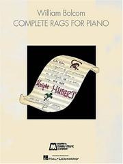 Cover of: Complete Rags for Piano | William Bolcom