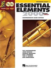 Cover of: Essential Elements 2000, Book 1 Plus DVD | Hal Leonard Corp.