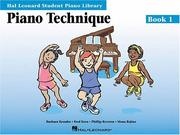 Cover of: Piano Technique Book 1 |
