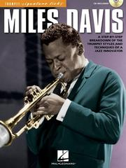 Cover of: Miles Davis - Trumpet Signature Licks