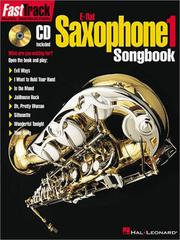 Cover of: FastTrack Alto Saxophone Songbook - Level 1 | Hal Leonard Corp.