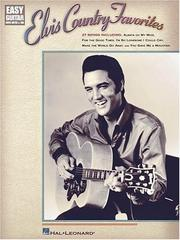 Cover of: Elvis Country Favorites (Easy Guitar with Notes & Tab)