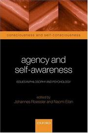 Cover of: Agency and Self-Awareness |