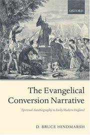 Cover of: evangelical conversion narrative | D. Bruce Hindmarsh