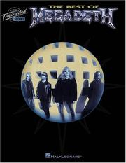 Cover of: The Best of Megadeth
