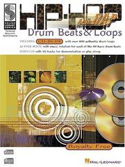 Cover of: Hip-Hop and Rap Drum Beats and Loops | Scott Schroedl