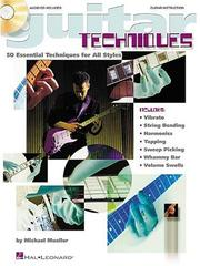Cover of: GUITAR TECHNIQUES | Michael Mueller