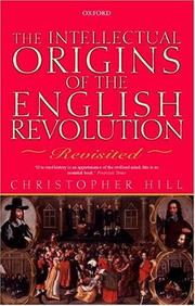 Cover of: Intellectual origins of the English revolution