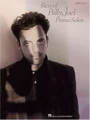 Cover of: Best of Billy Joel Piano Solos | Joel, Billy.