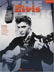 Cover of: The Elvis Book (Easy Guitar)