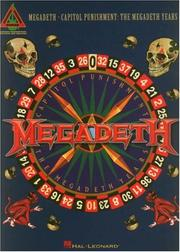 Cover of: Megadeth - Capitol Punishment