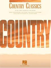Cover of: Country Classics | Hal Leonard Corp.