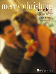 Cover of: Merry Christmas, Darling | Hal Leonard Corp.