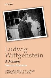 Ludwig Wittgenstein by Norman Malcolm