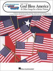 Cover of: 236. Irving Berlin's God Bless America  and Other Songs for a Better Nation (E-Z Play Today)