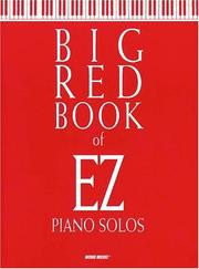 Cover of: Big Red Book of EZ Piano Solos | Carol Tornquist